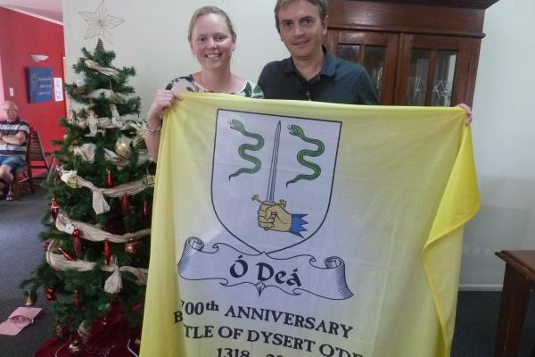 The Flag in NZ - Rachel and Jarrod Ward - December 2017