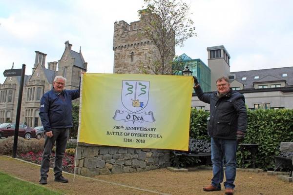 The Flag at Clontarf Castle, Dublin - January 2017