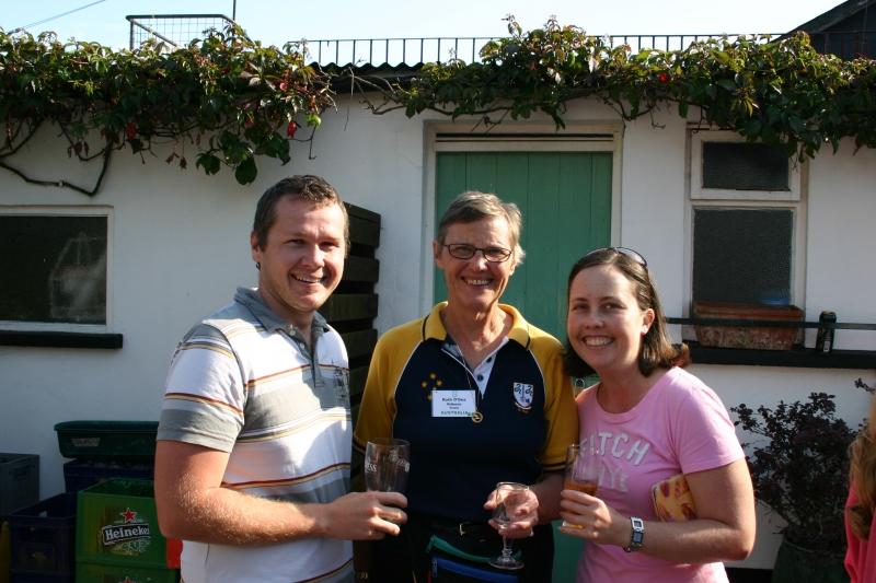 Clan Members at O'Dea's Pub, Ennis, County Clare