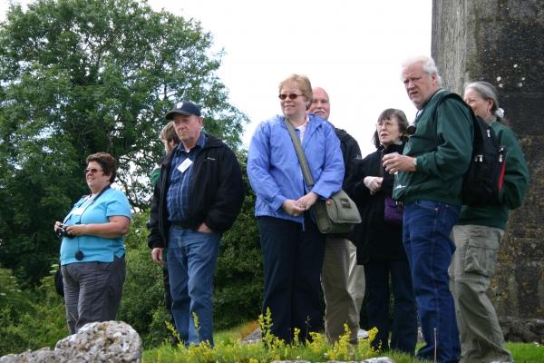 Clan Members at the O'Dea Castle, Dysert O'Dea, County Clare