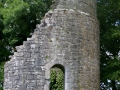 Round Tower at St Tola's Church, Dysert O'Dea, County Clare
