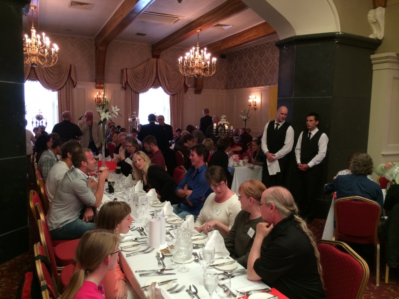Farewell Banquet at the Old Ground Hotel