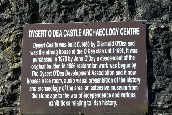 The O'Dea Castle - 12 May 2018 (Photo supplied by Teri and Abraham Barton)