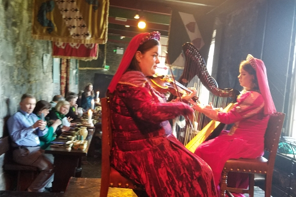 Knappogue Castle Medieval Banquet - 12 May 2018 (Photo supplied by Teri and Abraham Barton)