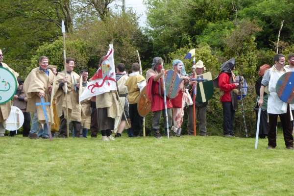 Re-enactment of the Battle of Dysert O'Dea  - 12 May 2018 (Photo supplied by Rosie O'Day Mason)