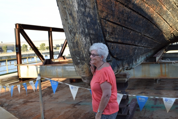 """Historic 1864 Clipper Ship """"City of Adelaide"""""""