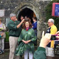 Maureen Carey Inaugurated as Taoiseach (Chieftain)