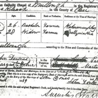 Index of Clippings from County Clare Parish Records