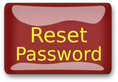 I've forgotten my password – how do I reset it?