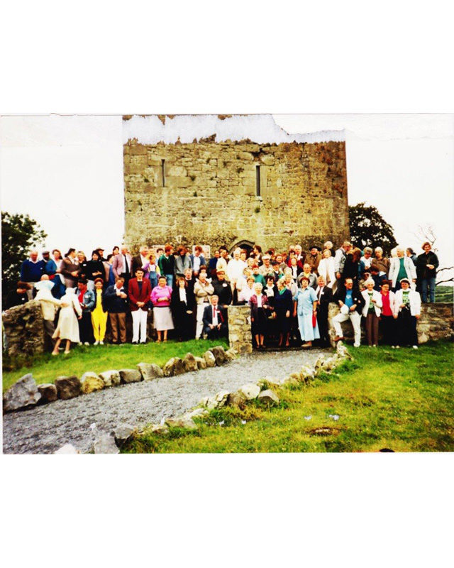 Group Photo - Clan Gathering in Ireland in 1990