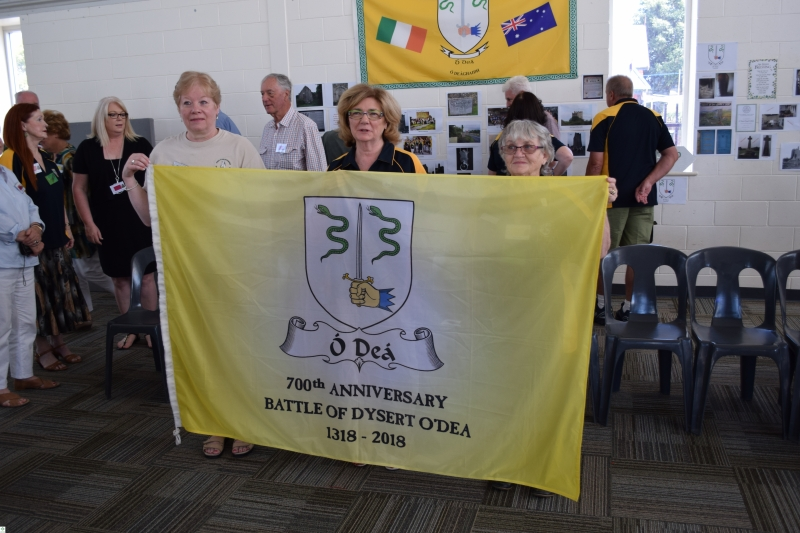 The Flag in South Australia - 2017 Clan Reunion in Adelaide - April 2017