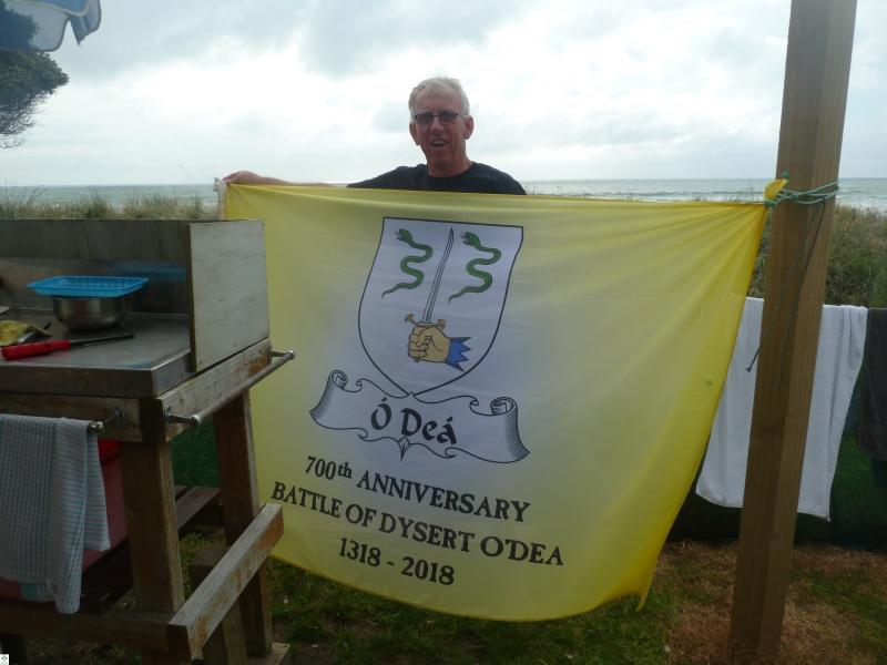 The Flag in NZ - Brian (Nimble) O'Dea - December 2017