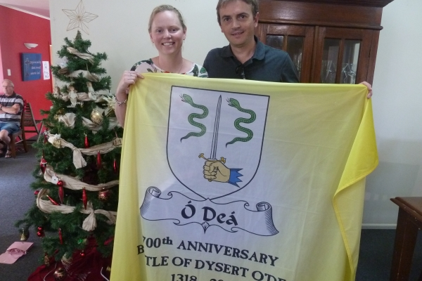 The Flag in NZ - Rachel and Jarrod Ward - December 2017