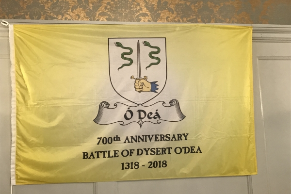 The Flag at the Banner Room, Old Ground Hotel, Ennis - May 2018