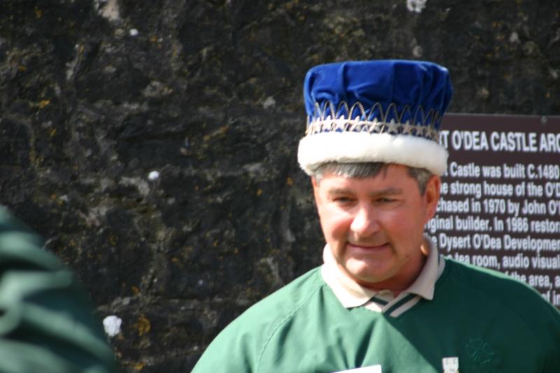 Inauguration of Bill Dea, the new Clan Chieftan
