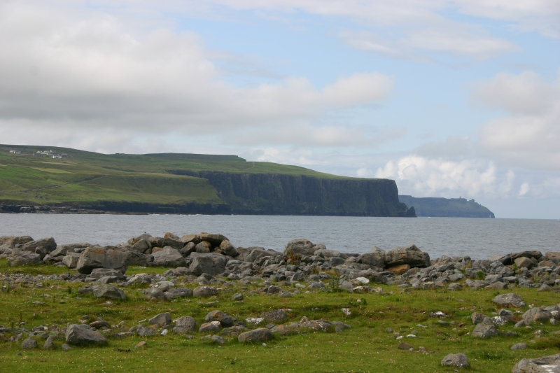 View from Doolin Harbour, County Clare