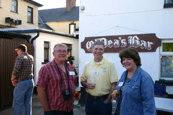 Clan Members at O'Dea's Pub, Ennis, County Clare