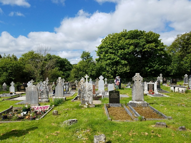 Dysert O'Dea Church - 12 May 2018 (Photo supplied by Teri and Abraham Barton)