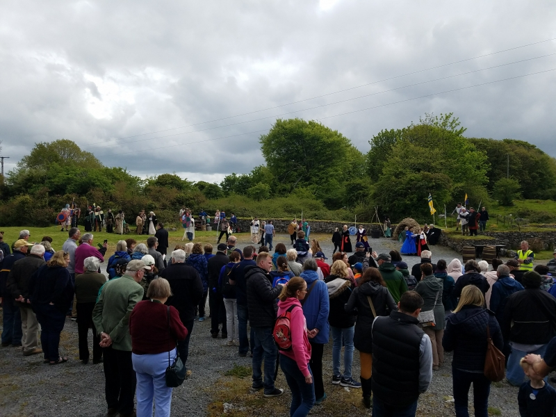 Re-enactment of the Battle of Dysert O'Dea - 12 May 2018 (Photo supplied by Teri and Abraham Barton)