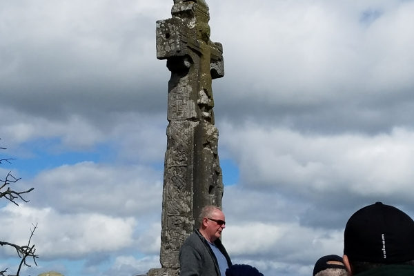 St Tola's Cross - 12 May 2018 (Photo supplied by Teri and Abraham Barton)