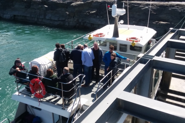 The Cliffs of Moher Boat Trip - 13 May 2018 (Photo supplied by Grant Day)