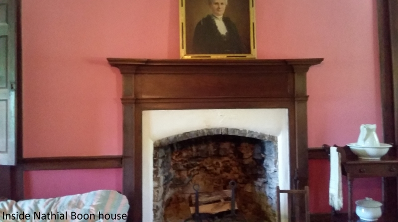 Inside Nathaniel Boone House