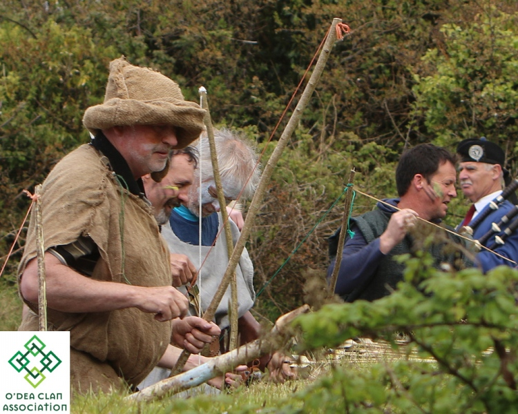 Re-enactment of the Battle of Dysert O'Dea