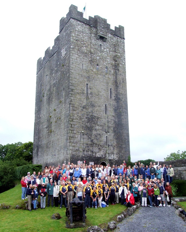 Group Photo - Clan Gathering in Ireland in 2008