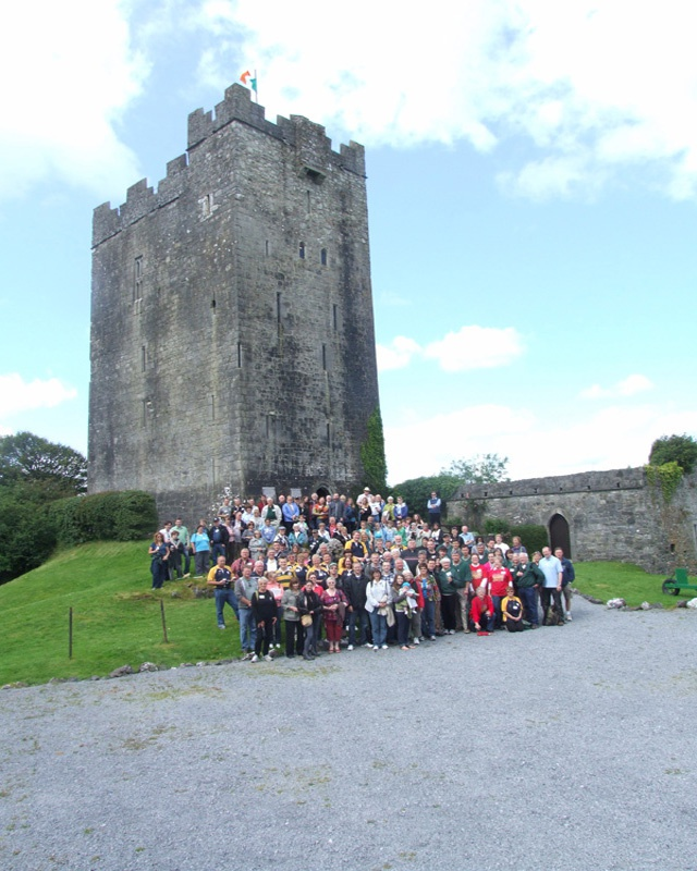 Group Photo - Clan Gathering in Ireland in 2011