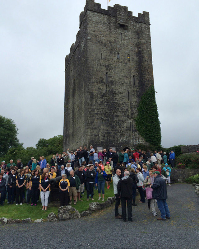 Group Photo - Clan Gathering in Ireland in 2014