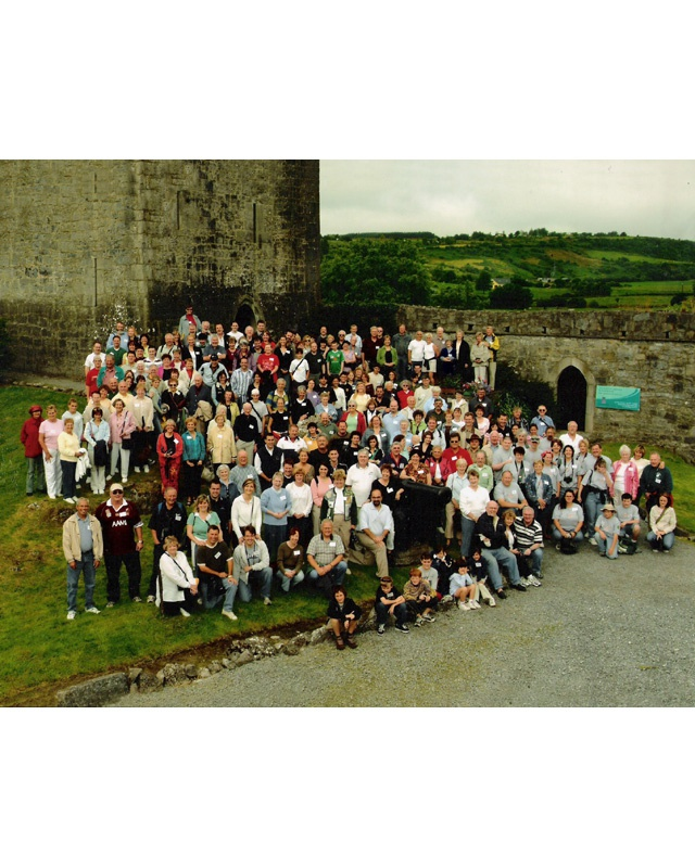 Group Photo - Clan Gathering in Ireland in 2005