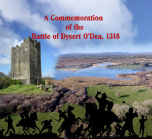 A Special DVD Commemorating the Battle of Dysert O'Dea in 1318 is Now on Sale