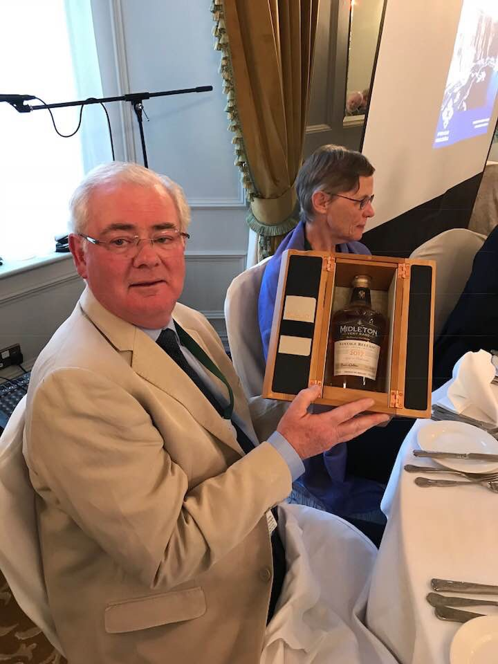 Presentation to James O'Dea